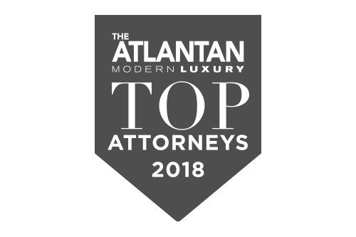 The Atlantan Modern Luxury Top Attorneys 2018 Award