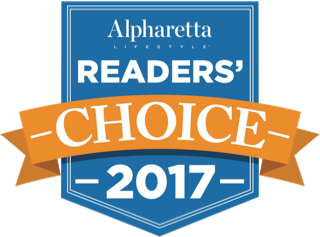 Alpharetta Readers' Choice Award 2017