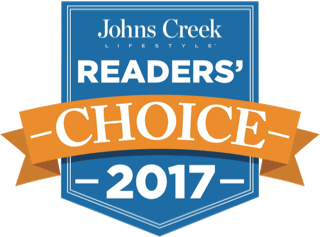 Johns Creek Readers' Choice Award 2017